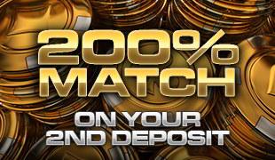total gols 200% deposit bonus slots match
