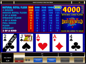 play deuces wild online poker free