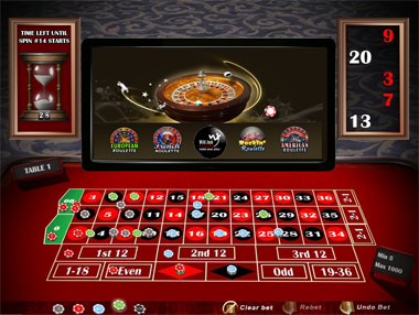 roulette free play no deposit