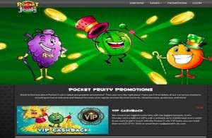 Pocket Fruity Free Spins Online Casino