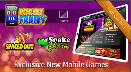 Pocket Fruity Mobile Casino Slots