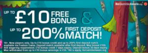 signup bonus no deposit