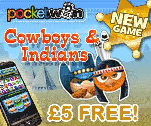 PocketWin Cowboys & Indians
