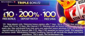 free casino signup bonus