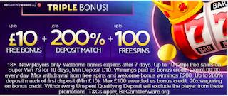 mFortune casino welcome bonus