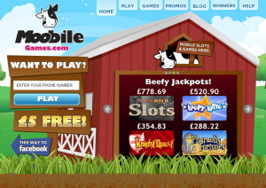 Moobile Games Signup