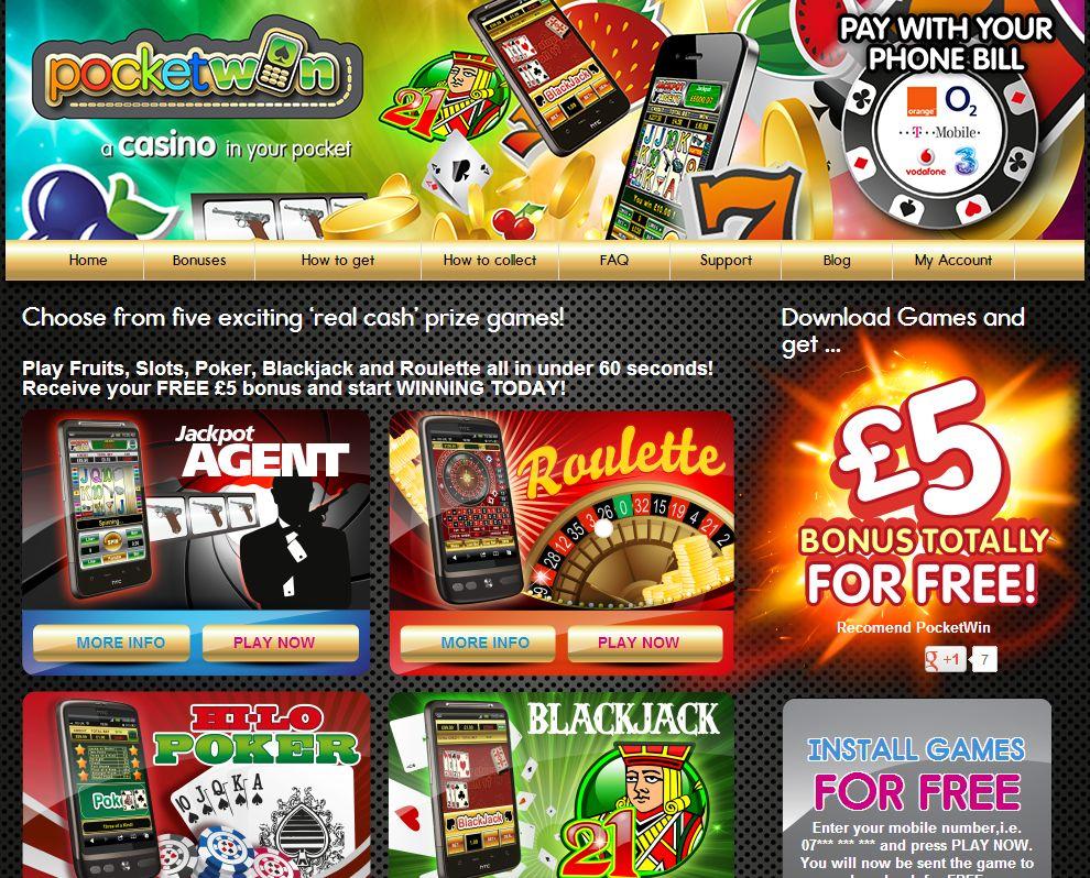 Casino mobile 5 free