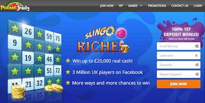 Pocket Fruity Slingo Riches Mobile Slots Real Money Jackpot
