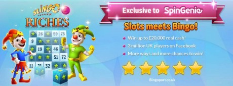 Slingo-Riches-Spin-Genie-Free-Spins-No-Deposit