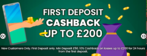 welcome bonus cashback offer